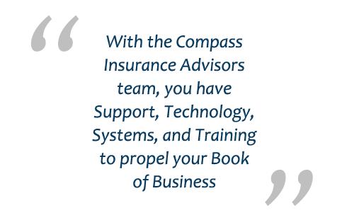 Compass Insurance Advisors   Career Opportunity